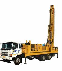 300m Crawler Chassis Or Truck Chassis Water Well Drilling Rig Borehole Drilling Equipment 85kw