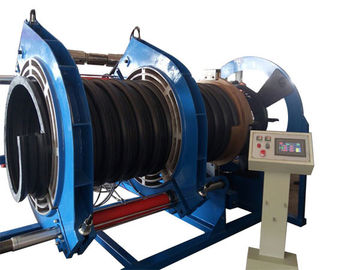600MM Butt Fusion Welding Corrugated Pipe Welding Machine For Spiral Texture PE Pipe